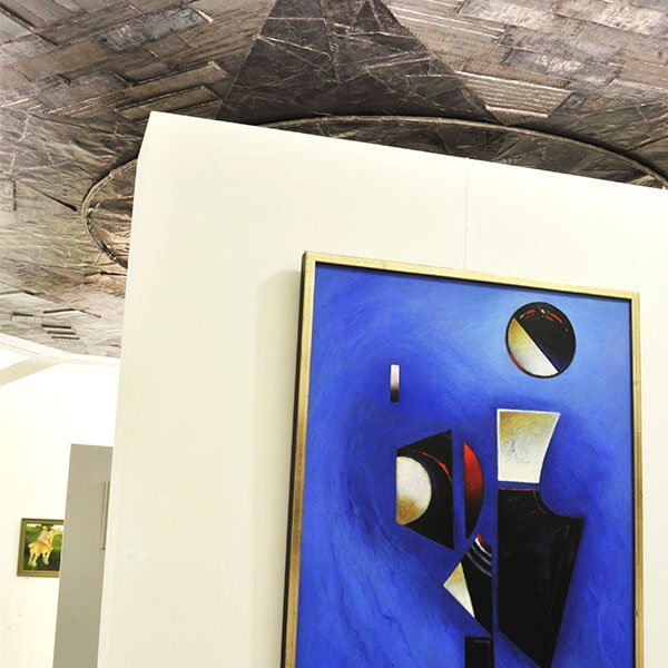 Walter Lederer, * 1923 Schonbach bei Asch, Figur-Formen, 1992, Öl auf Leinwand | Formy postav, 1992, olej na plátně