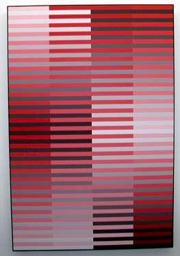 Horizontal, vertikal-rot, schwarz - Kunstwerk des Monats Januar 2005