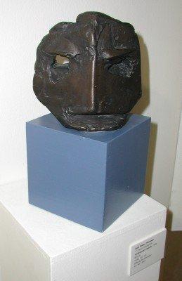 Verbranntes Gesicht - Kunstwerk des Monats Juni 2002