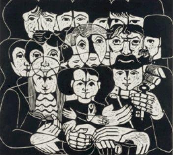 Familienzusammenhalt - Kunstwerk des Monats März 2006