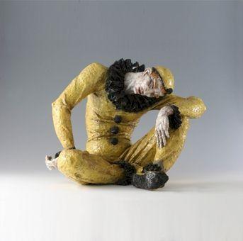 Sterbender Pierrot - Kunstwerk des Monats März 2007