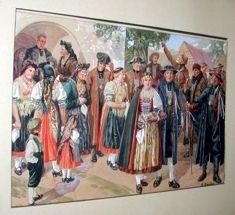 Egerländer Hochzeit - Kunstwerk des Monats Oktober 2003