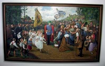 Huldigung des Erzgebirges - Kunstwerk des Monats September 2005
