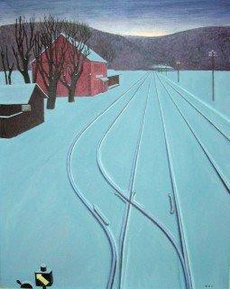Der Zug ist abgefahren - Kunstwerk des Monats Februar 2002