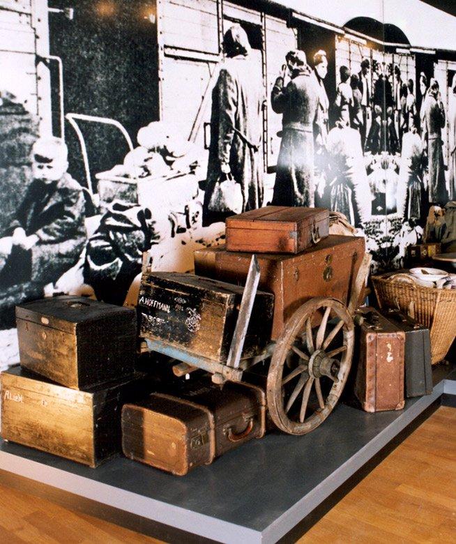 Nové Muzeum Chebska, inscenace situace vyhnání